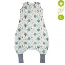 Bio Baby Sleeping bag with legs organic cotton, unicorns