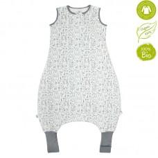 Bio Baby Sleeping bag with legs organic cotton, friends