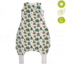Bio Baby Sleeping bag with legs organic cotton, elephant