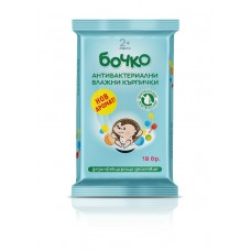 Bochko Antibacterial Cleanser Wipes 18 pcs