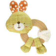 Bright Starts Clutch and Hold Wood toy Bunny