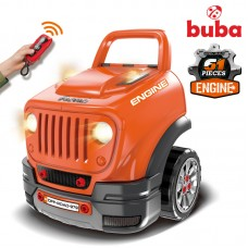 Buba Engine Workshop Motor Sport, orange