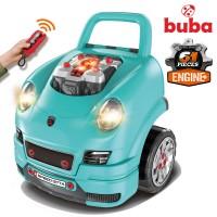 Buba Engine Workshop Motor Sport, blue