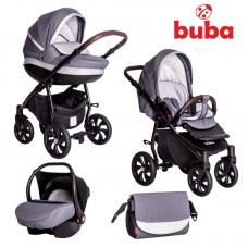 Buba Baby stroller 3 in 1 Estilo Dark grey