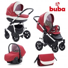 Buba Baby stroller 3 in 1 Forester Red