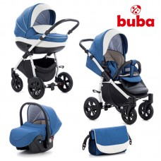 Buba Baby stroller 3 in 1 Forester Blue