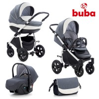 Buba Baby stroller 3 in 1 Forester Grey