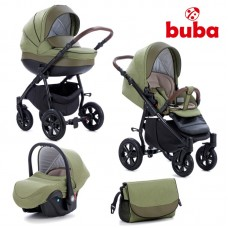 Buba Baby stroller 3 in 1 Forester Green