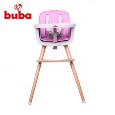 Bubba High Chair Carino pink