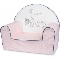 Bubaba Safari baby soft chair pink