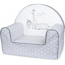 Bubaba Safari baby soft chair grey