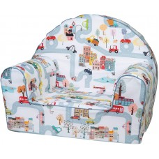 Bubaba Colorful City baby soft chair