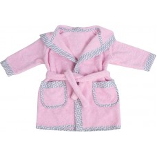 Bubaba Children's bathrobe Pink