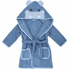 Bubaba Children's bathrobe 110/116 cm Hippo