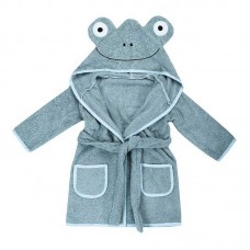 Bubaba Children's bathrobe 110/116 cm Frog