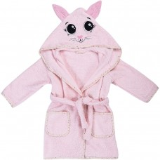 Bubaba Children's bathrobe 110/116 cm Kitty