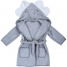Bubaba Children's bathrobe 110/116 cm Elephant