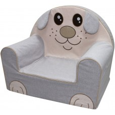 Bubaba Funny Puppy baby soft chair