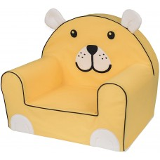 Bubaba Yellow Bear baby soft chair