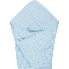 Bubaba Baby Blanket 65x65 cm blue