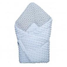 Bubaba Baby Blanket 65x65 cm grey