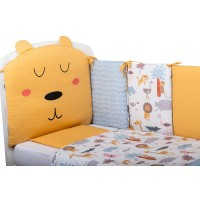 Bubaba 10 elements bedding set, Lion and friends