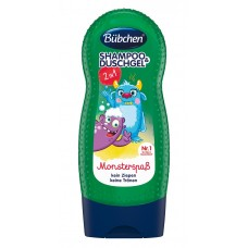 Bubchen Kids Shampoo and Duschgel Monster fun