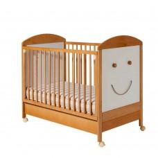 Bucko Бебешко дървено легло Smile Nature