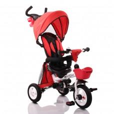 Cangaroo Детска триколка Byox Flexy Lux червена