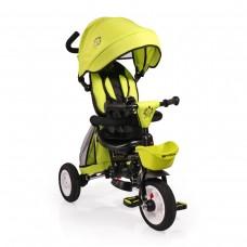 Cangaroo Детска триколка Byox Flexy Lux зелена
