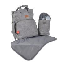 Cangaroo Changing bag Lydia, grey