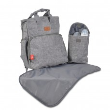 Cangaroo Changing bag Lydia, grey