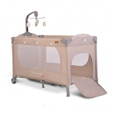 Cangaroo Travel cot Once upon a time 1, beige