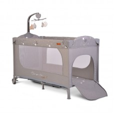 Cangaroo Travel cot Once upon a time 1, grey