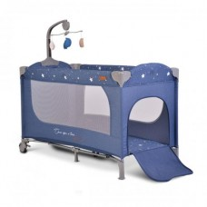Cangaroo Travel cot  Once upon a time 2, blue