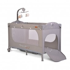 Cangaroo Travel cot  Once upon a time 2, grey