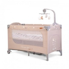 Cangaroo Travel cot  Once upon a time 3, beige