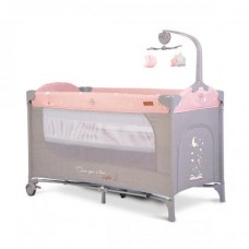 Cangaroo Travel cot  Once upon a time 3, pink