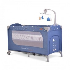 Cangaroo Travel cot  Once upon a time 3, blue