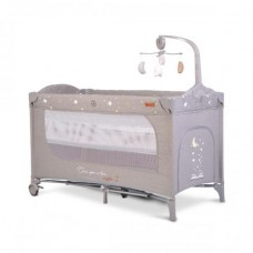 Cangaroo Travel cot  Once upon a time 3, grey