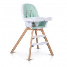 Cangaroo Wooden High Chair Hygge, mint