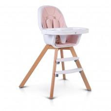 Cangaroo Wooden High Chair Hygge, pink