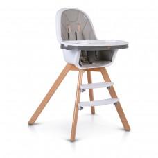 Cangaroo Wooden High Chair Hygge, grey
