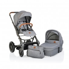 Cangaroo Baby stroller Icon 2 in 1 grey