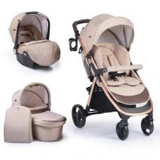 Cangaroo Baby stroller Noble 3 in 1, beige