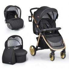 Cangaroo Baby stroller Noble 3 in 1, black