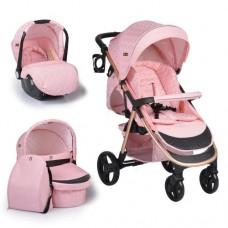 Cangaroo Baby stroller Noble 3 in 1, pink