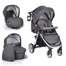 Cangaroo Baby stroller Noble 3 in 1, dark grey