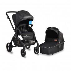 Cangaroo Baby stroller 2 in 1 Mira, Black