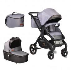 Cangaroo Baby stroller 2 in 1 Mira, grey